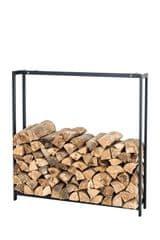BHM Germany Stojan na drevo Skog, 175x170 cm, matná čierna