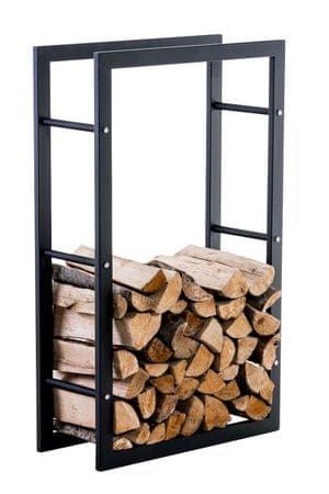 BHM Germany Stojan na drevo Karin, 60x100 cm, čierna