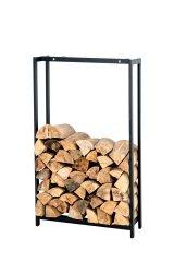 BHM Germany Stojan na drevo Skog, 100x70 cm, matná čierna