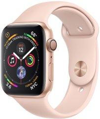 Apple smartwatch Watch Series 4, 40mm, złota aluminiowa obudowa/różowy pasek