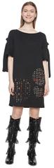 Desigual Női ruhaVest Alma Negro 18WWVK83 2000