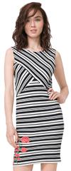 Desigual Dámske šaty Vest Four 72V2YG0 1000