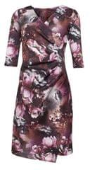 Smashed Lemon Kobiety krótka sukienka Brązowy 170041/07