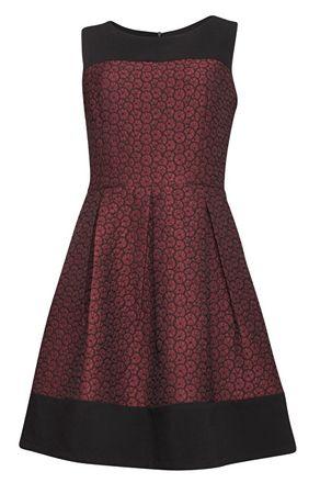 cdc98076a098 Smashed Lemon Dámske krátke šaty Bordeaux 17743 20 (Veľkosť S)