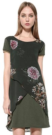 bc2f23275603 Desigual Dámske šaty Vest Kina 17WWVW82 4007 (Veľkosť 36)
