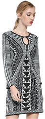 Desigual Dámske šaty Vest Hayley 17WWVF21 1001
