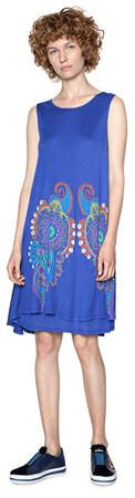 Desigual Dámske šaty Vest Erica 18SWVKAA 5202 (Veľkosť S)