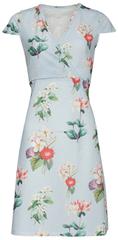 Smashed Lemon Damska krótka sukienka Light Blue 18385/17
