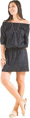 Prana Női ruha Lenora ruha Black megszórjuk (méret XS)