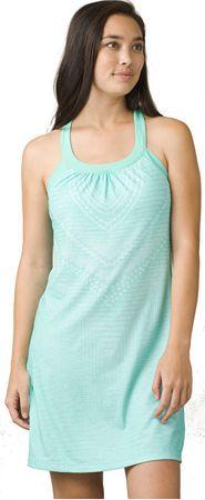 Prana Női ruhaCantine Dress Succulent Green Synergy (méret S)
