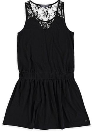 Cars-Jeans Dámske šaty Louisia 4328301 Black (Veľkosť XS)