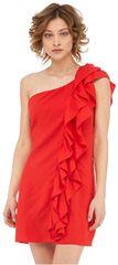 Fornarina Dámske šaty Leila-Rosso Abito