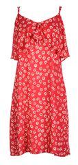 Fornarina Dámske šaty Marina-Rosso Abito