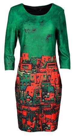 Smashed Lemon Női ruha Green 18536 (méret S)