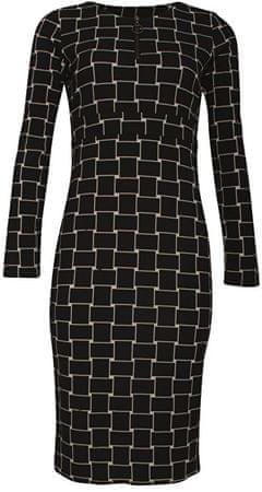 Smashed Lemon Sukienka dla kobiet Black / Creme 18597 (Wielkość S)