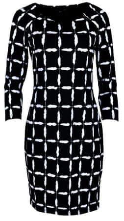 Smashed Lemon Női ruha Black / White 18598 (méret S)