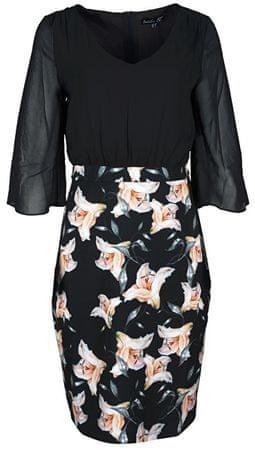 Smashed Lemon Női Black / krém 18694 ruha (méret M)