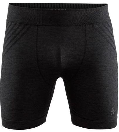 Craft moške boksarice Fuseknit Comfort, L, črne, neuporabljene - Odprta embalaža