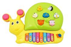 Unikatoy otroški piano v polžu