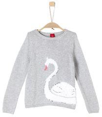 s.Oliver Dívčí svetr s labutí