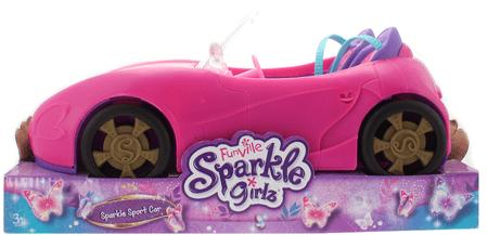 Alltoys Auto závodní Sparkle Girlz