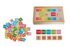 Woody Škatla za učenje množenja