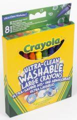 Crayola Voskovky extra smyvatelné 8 ks