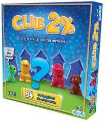 TM Toys gra logiczna Club 2%