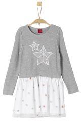 s.Oliver Dívčí šaty s hvězdami