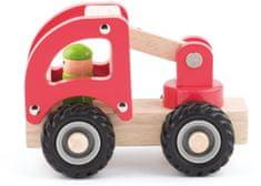Woody drveno vozilo - vatrogasac