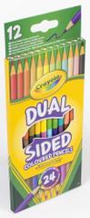 Crayola 12 ks obojstranných pasteliek