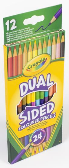 Crayola 12 ks oboustranných pastelek