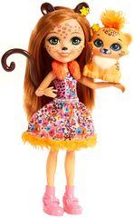 Mattel Enchantimals lutka Cherish i tigar