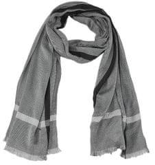 s.Oliver pánský šedý šátek