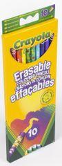 Crayola 10 ks ľahko zmazateľných pasteliek