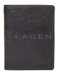 Lagen Pánská kožená peněženka 2001/T BLK