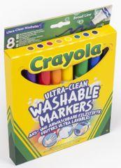 Crayola Fixky vyprateľné so širším hrotom 8 ks