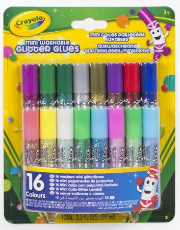 Crayola Trblietky v lepidle - vyprateľné