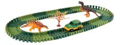 Alltoys Variabilná dráha s dinosaurami 100 dielov