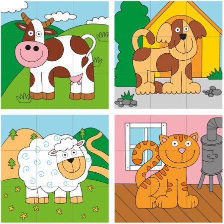 Woody Kubus navliekací - domáce zvieratá