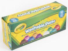 Crayola 10 ks umývateľných temperových farieb
