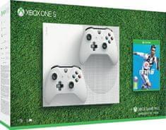 Microsoft Xbox One S 1TB + extra ovladač + FIFA 19 - použité