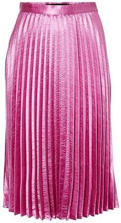 Vero Moda Dámská sukně Nedaly Pleated Skirt D2-1 Opera Mauve (Velikost M)
