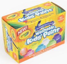 Crayola Neonové temperové barvy 6ks