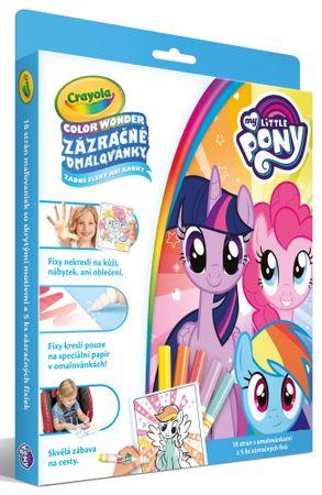 Crayola Zázračné omaľovánky My little Pony