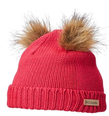 COLUMBIA czapka dziewczęca Snow Problem Beanie Cactus Pink