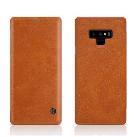Nillkin preklopna torbica QIN za Samsung Galaxy Note 9, smeđa