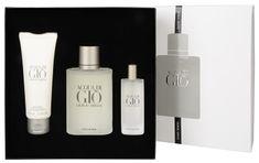 Giorgio Armani Acqua Di Gio Pour Homme- woda toaletowa 100 ml + woda toaletowa 15 ml + żel pod prysznic 75 ml