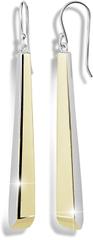 Modesi Aranyozott ezüst fülbevaló M26016 ezüst 925/1000