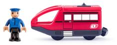 Woody Modern elektromos mozdony - piros
